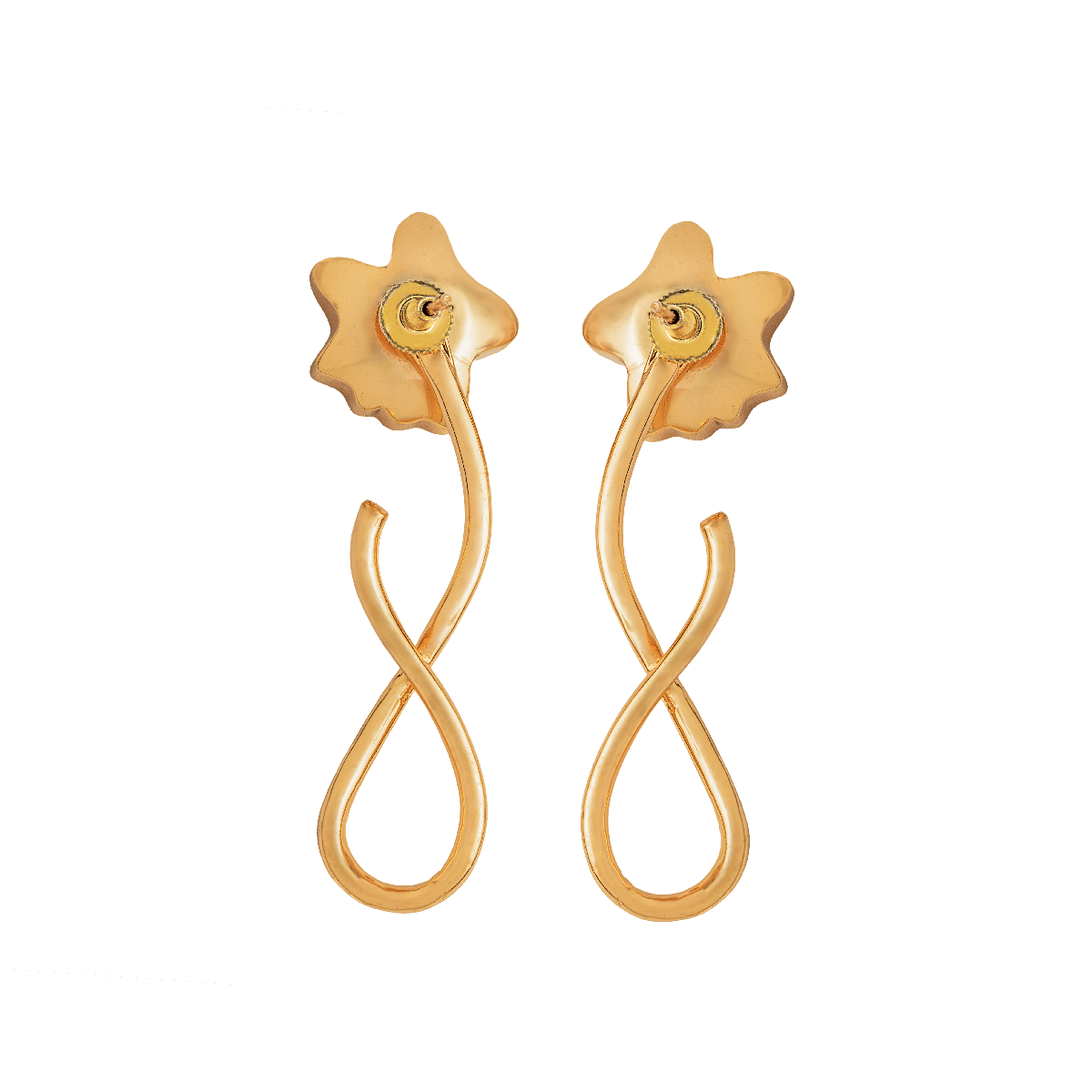 S layered Stud Earrings