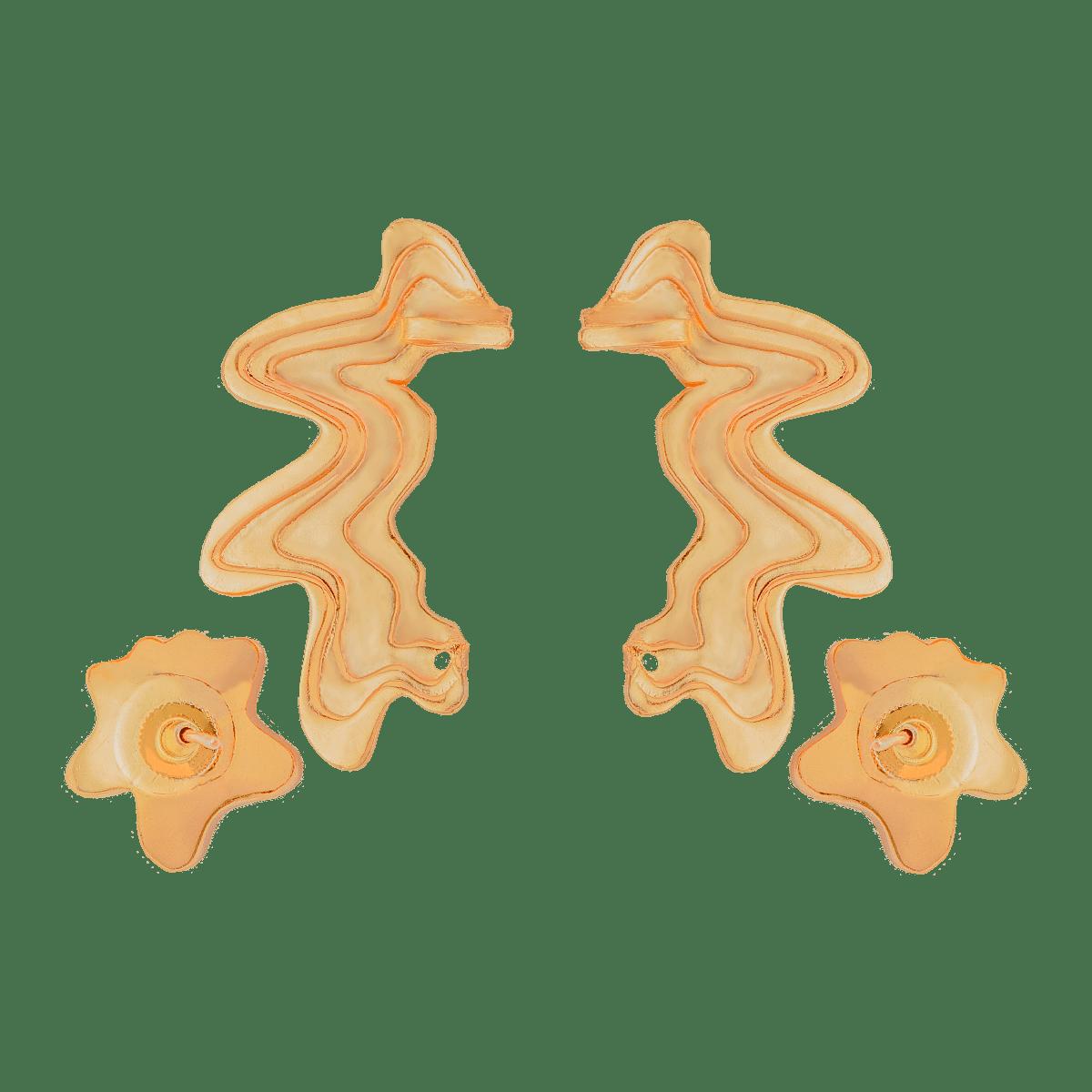 Layered Stud Ear-Cuff