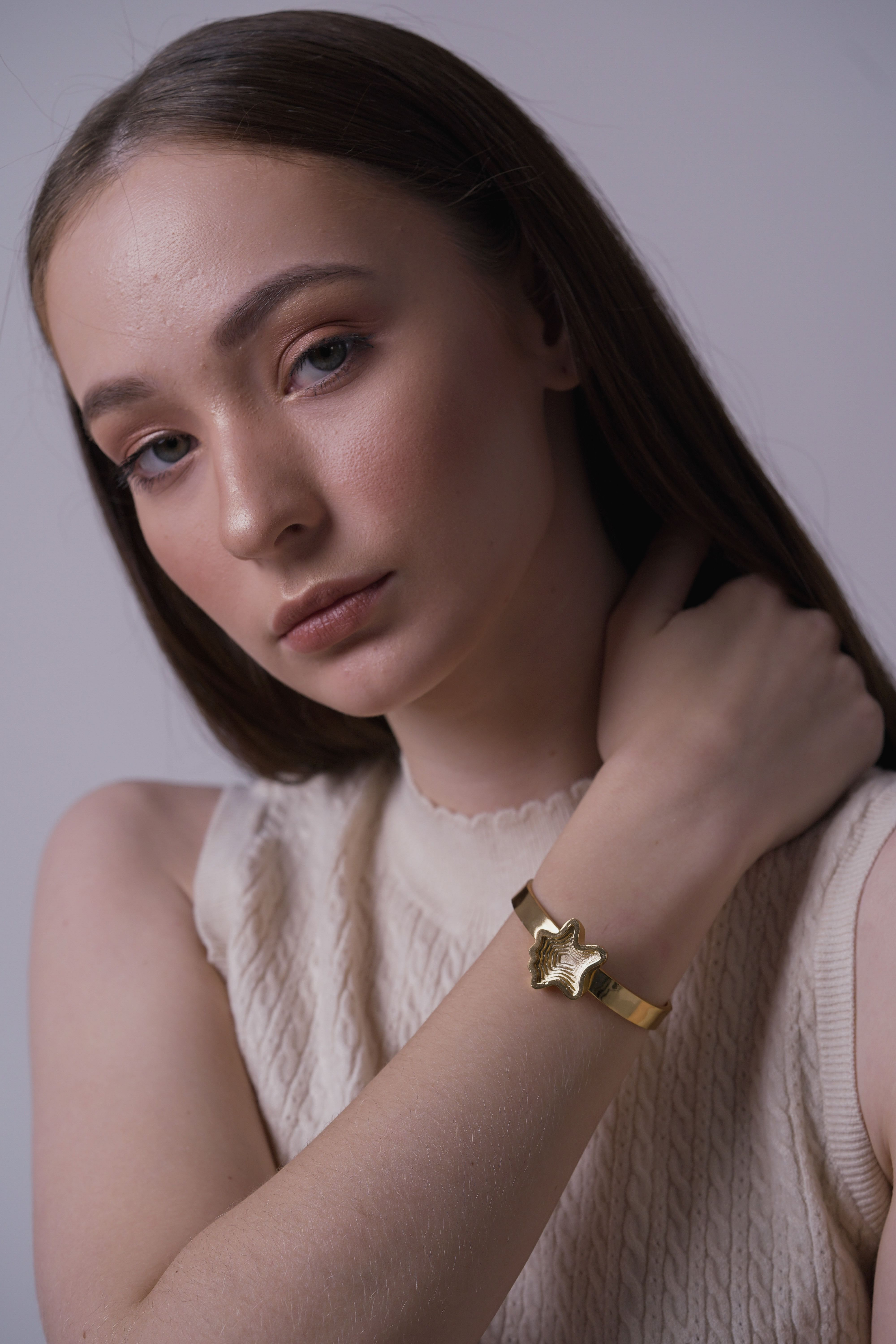 Layered Gold Plated Bracelet