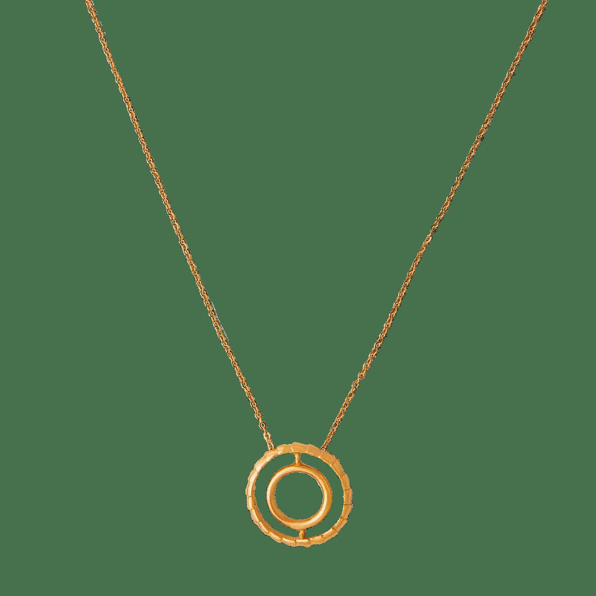Concentric Circle Pendant