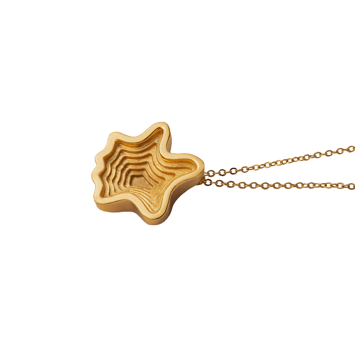 Hollow Layered Pendant