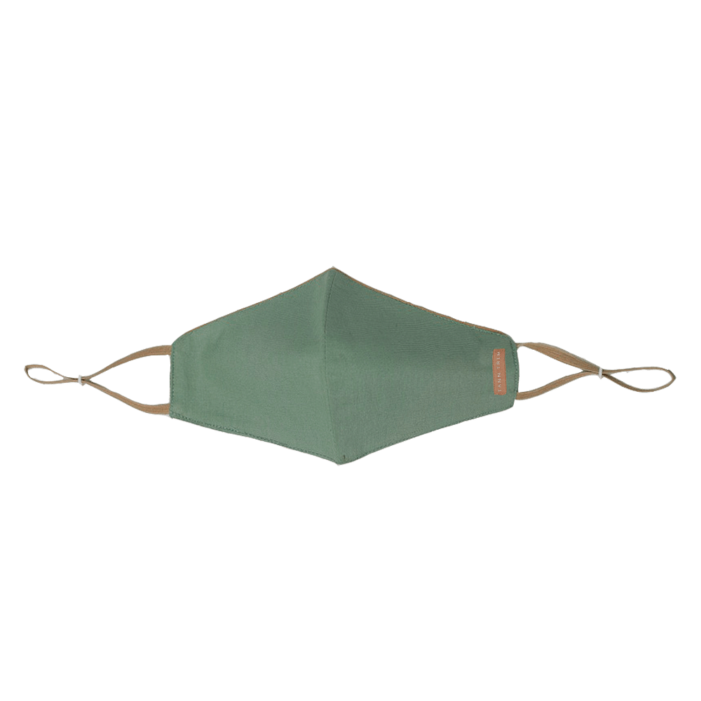 Sage Green Breathable Cotton Mask - Large