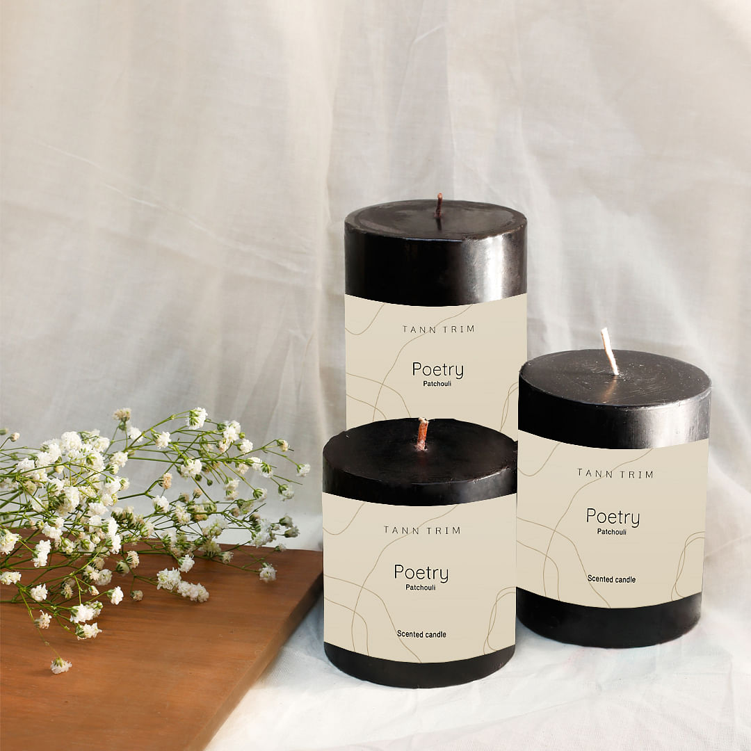 POETRY: Patchouli Scented Candle Gift Box