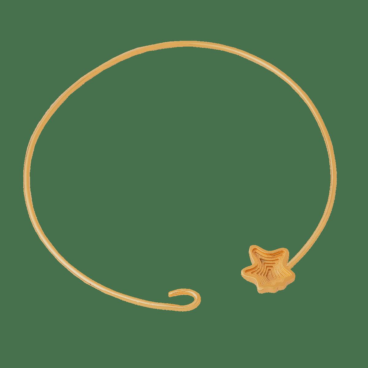 Layered 22 Kt Hasli Necklace