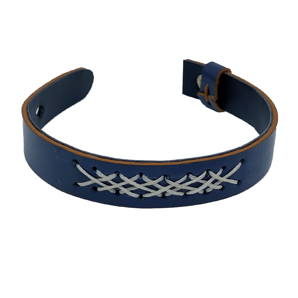 Navy Blue Hand-Crafted Band