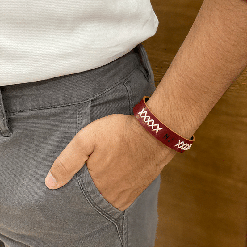 Maroon Hand-crafted Band
