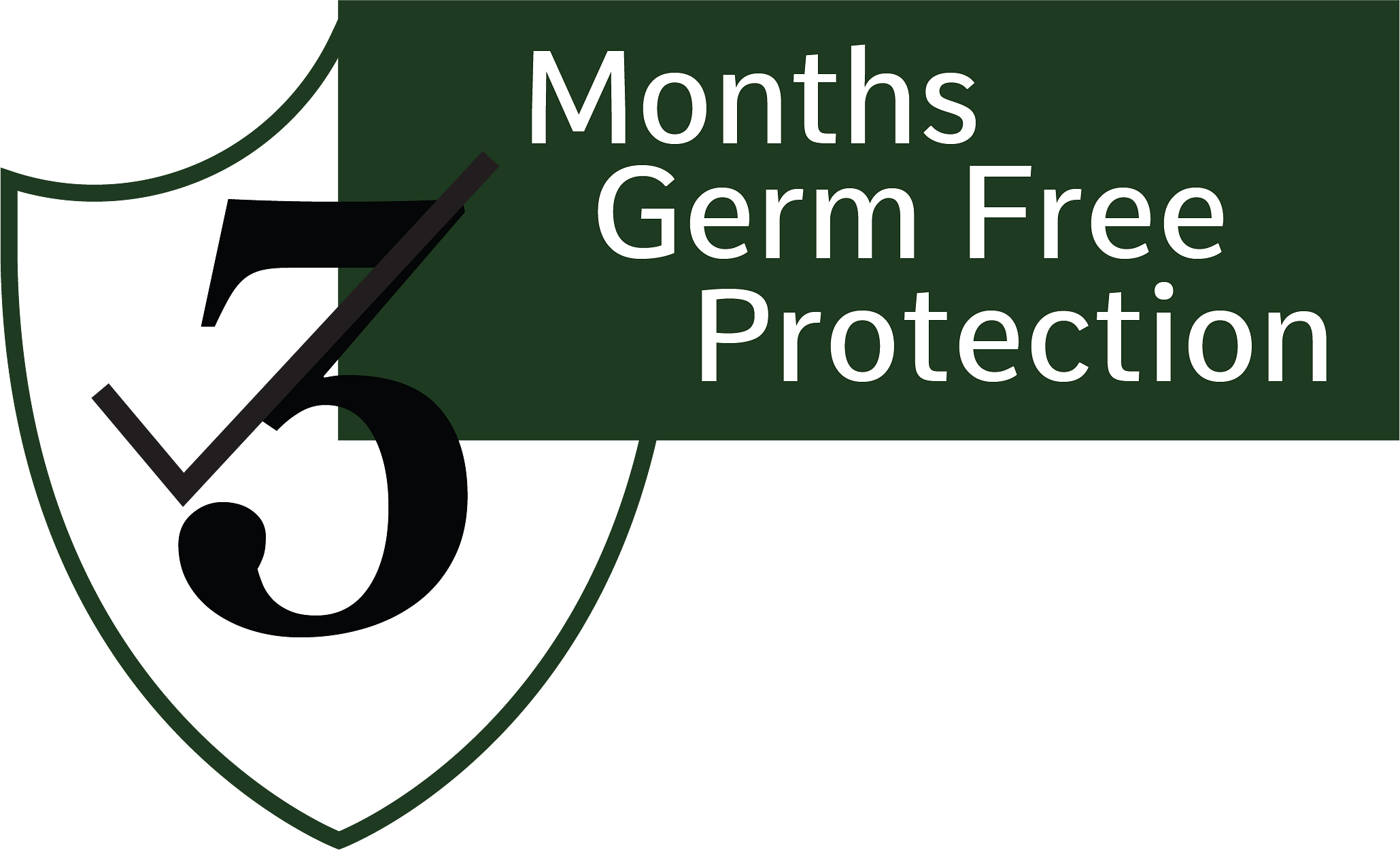 3 Months Germ Free Protection