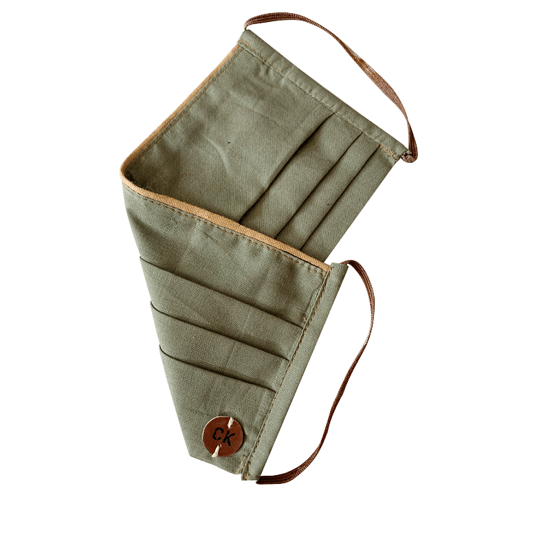 Olive Green Reusable Mask