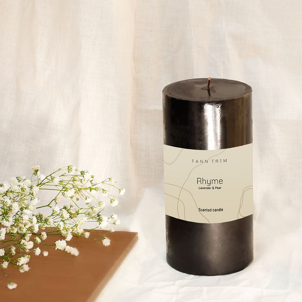 RHYME: Lavender Scented Large Candle