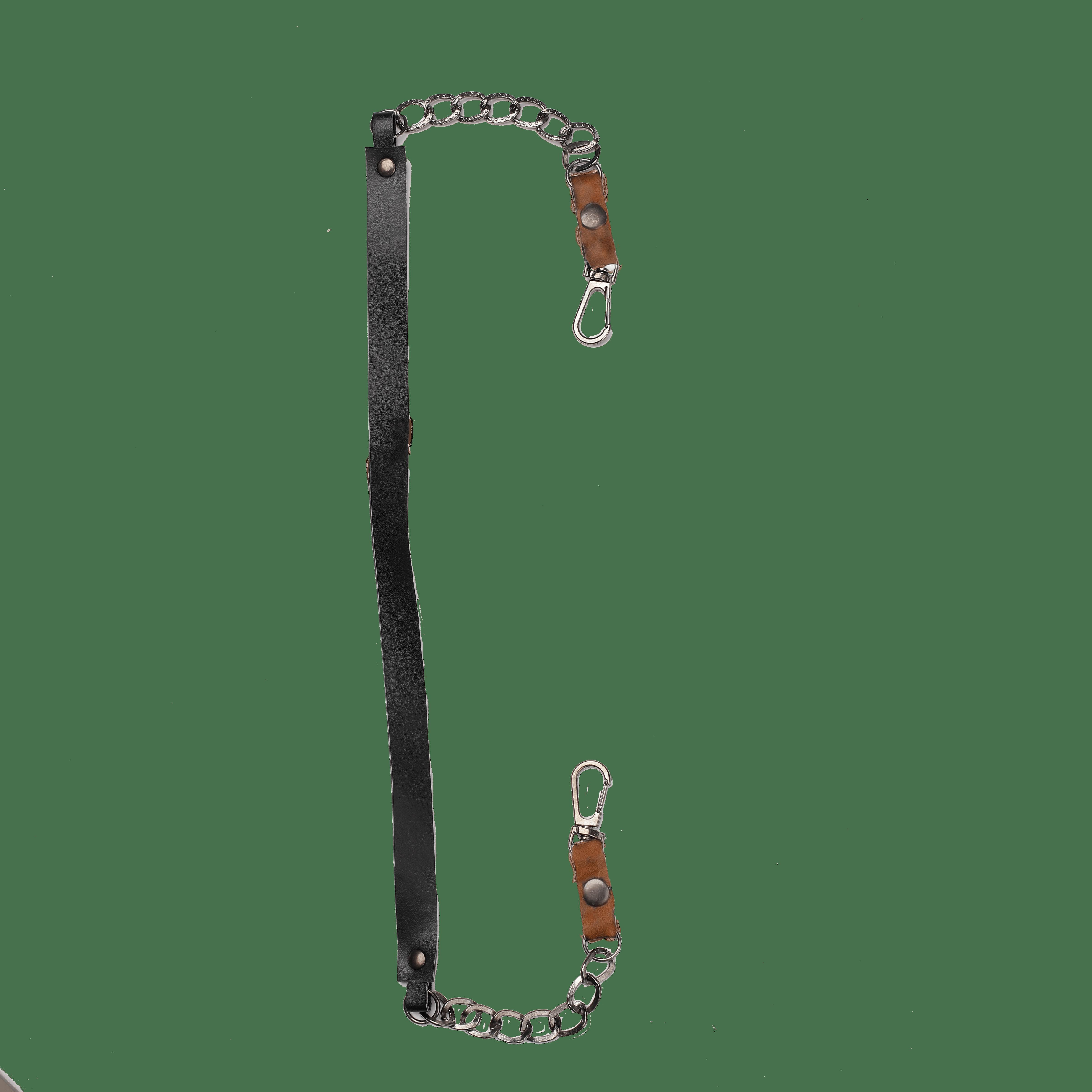 Black Detachable Mask Chain
