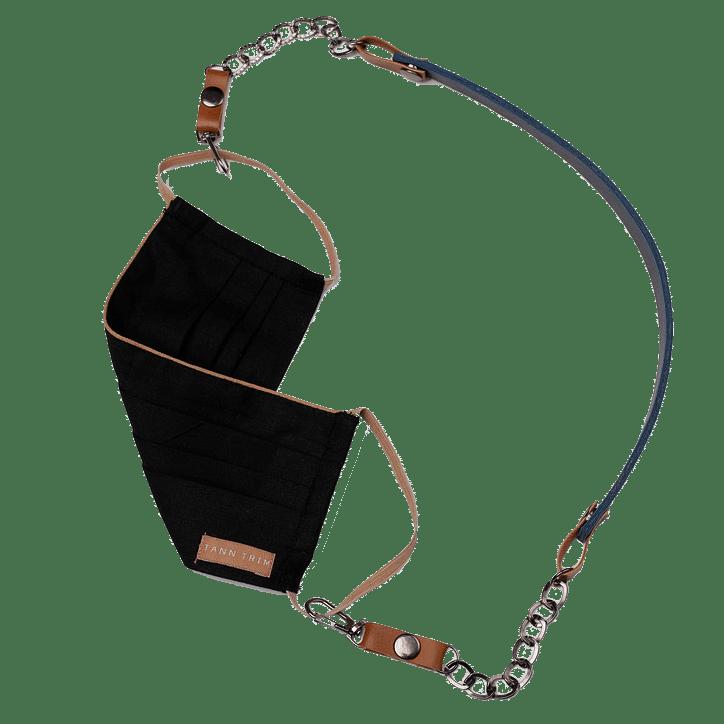 Blue Detachable Mask Chain