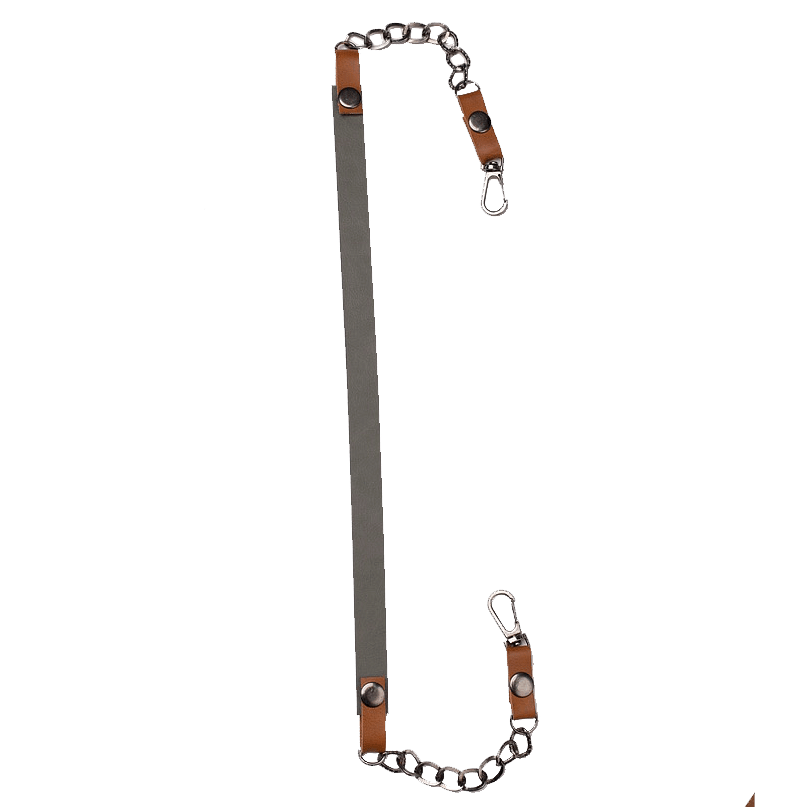 Grey Detachable Mask Chain