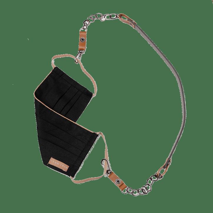 Grey Detachable Mask Chain