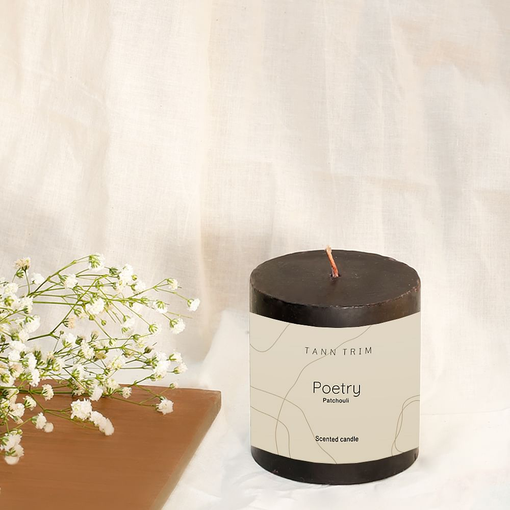 POETRY: Patchouli Scented Candle
